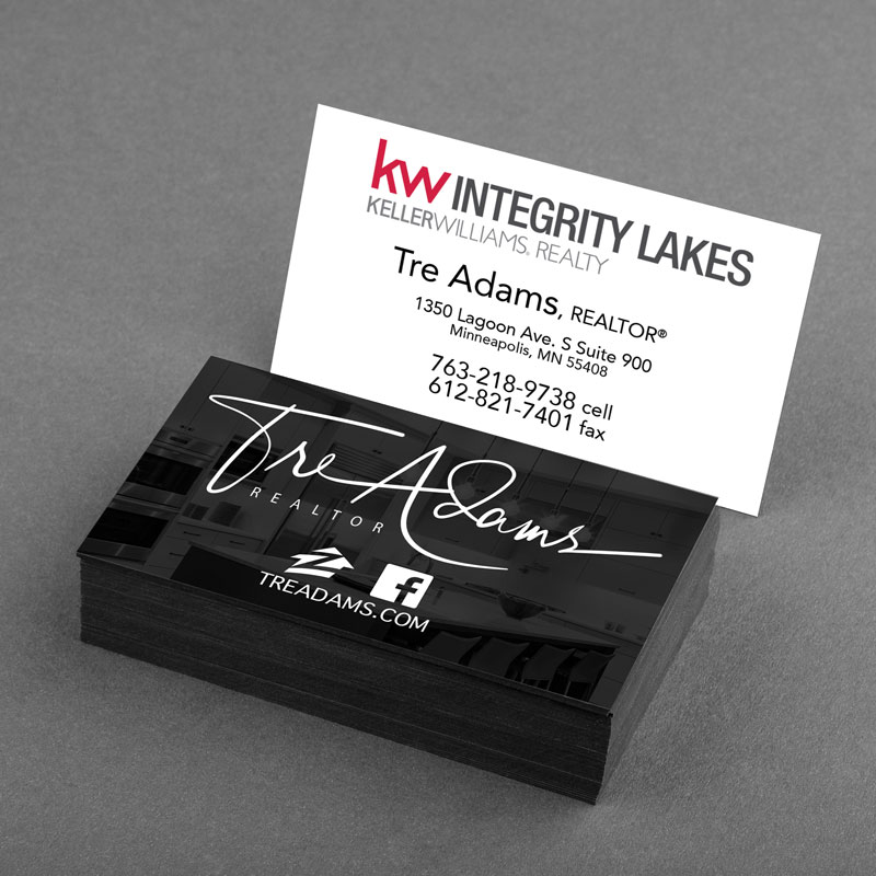 Tre Adams Realtor Business Card