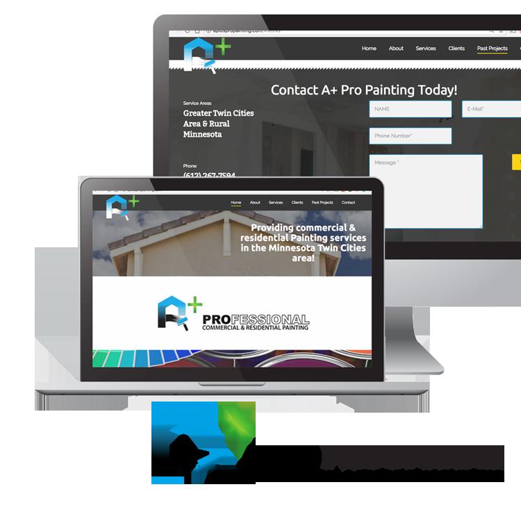 Professional Service Company Brand Design
