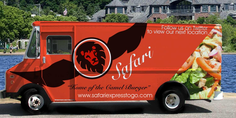 Safari Express Food Truck Concept Design