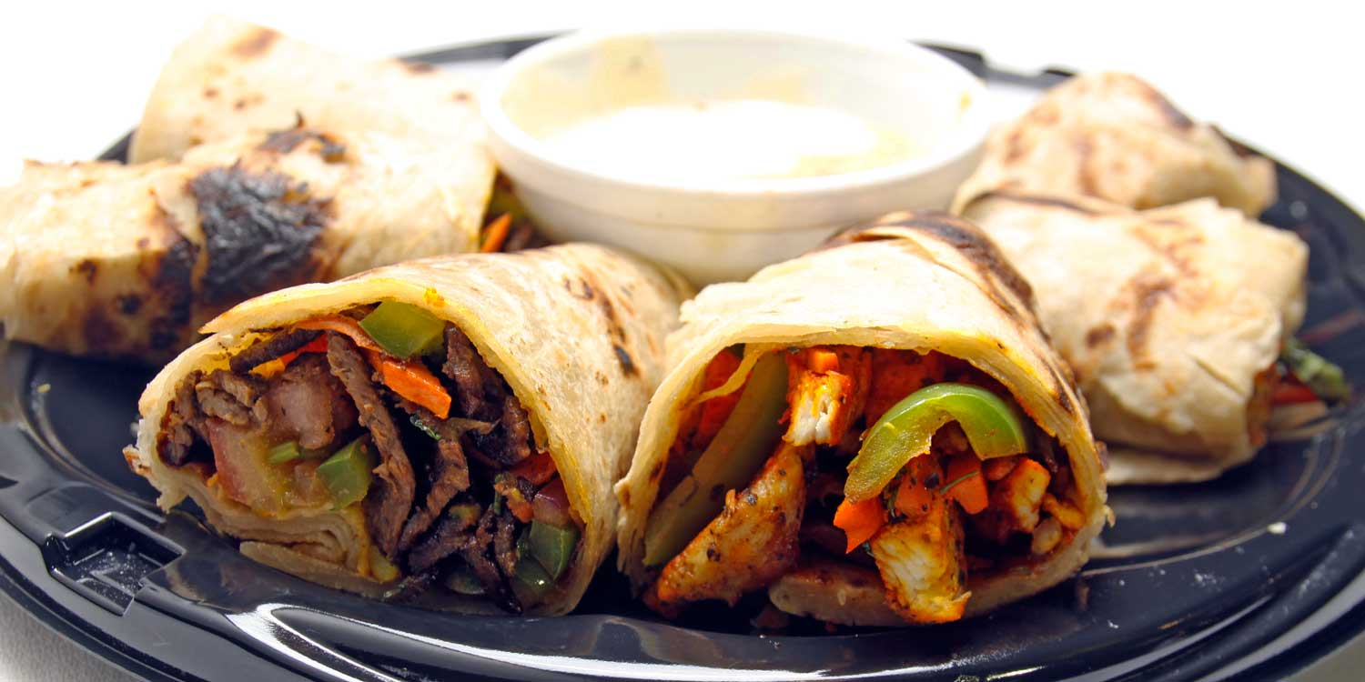 Safari Express Chicken and Beef Wrap Platter photo by moda photography