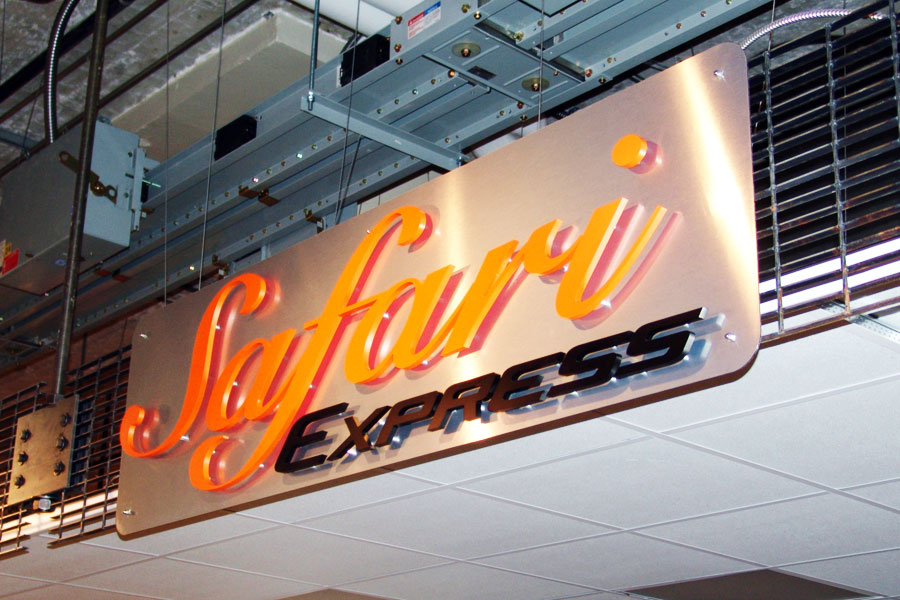 Custom Signage Design and Fabrication by Cordavii Consulting