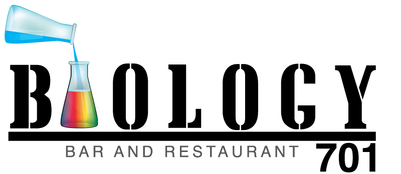Biology 701 Bar and Restaurant Logo by Cordavii Brand Consulting