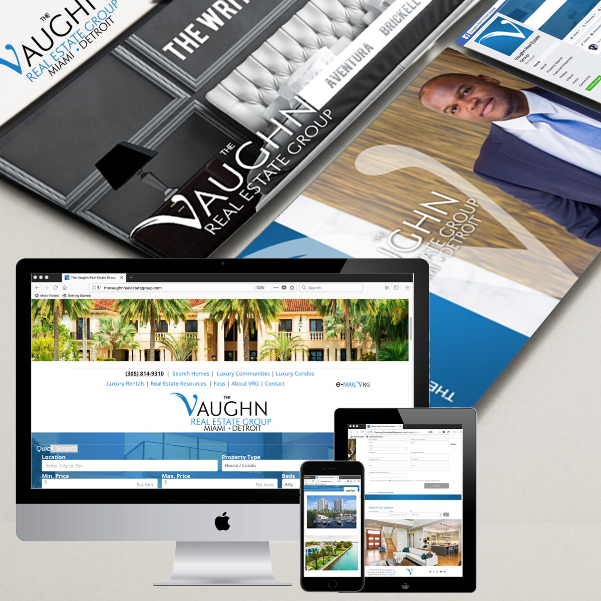 The Vaughn Real Estate Group by Cordavii Brand Consulting