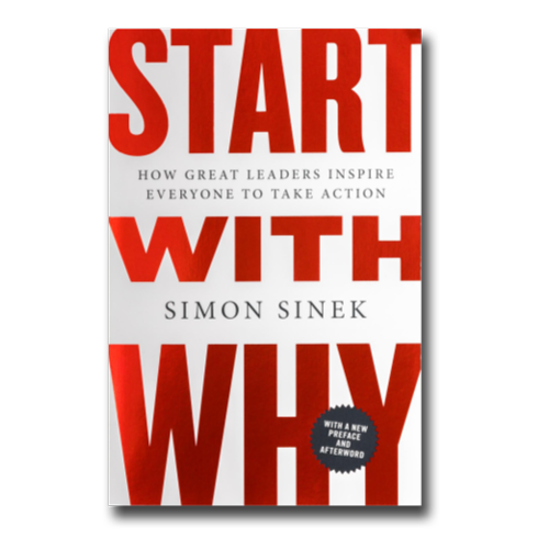 Simon Sinek Start with Why Book Cover recommendation by Cordavii Consulting