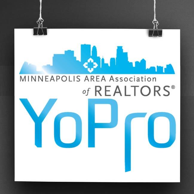 Minneapolis Area Association of Realtors Young Professionals network logo sample
