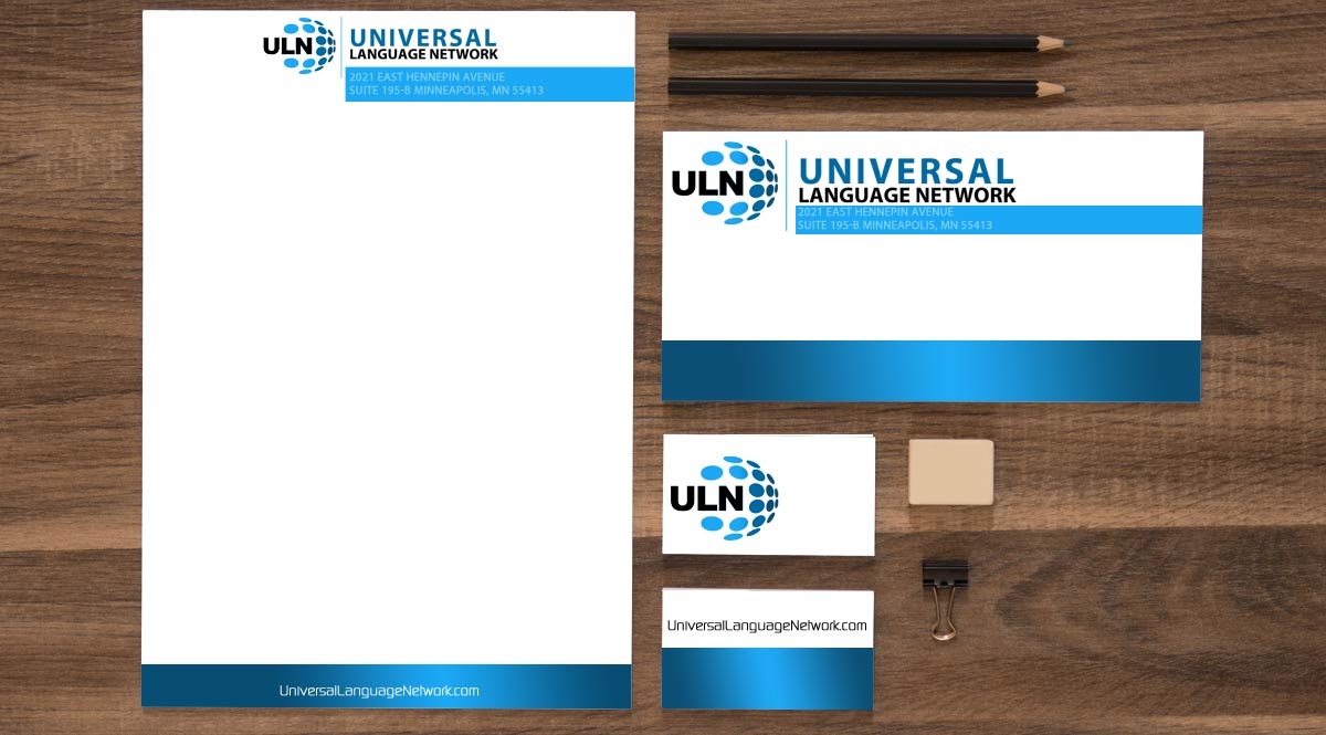 Universal Language Network Stationary Design