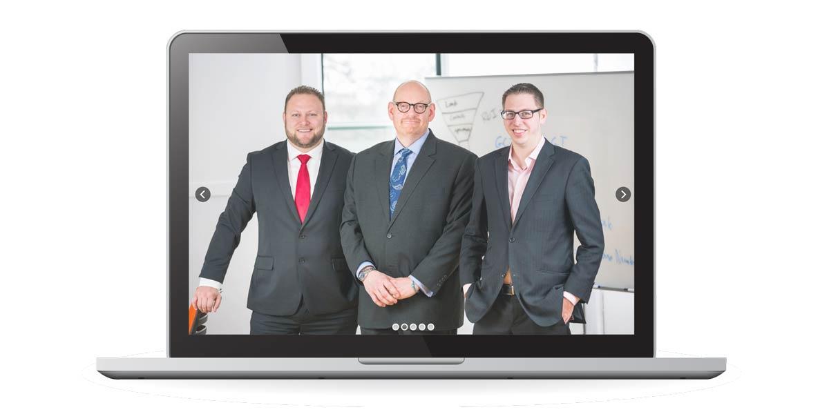 Mindset, Methods & Metrics : winning as a modern real estate agent website via Laptop