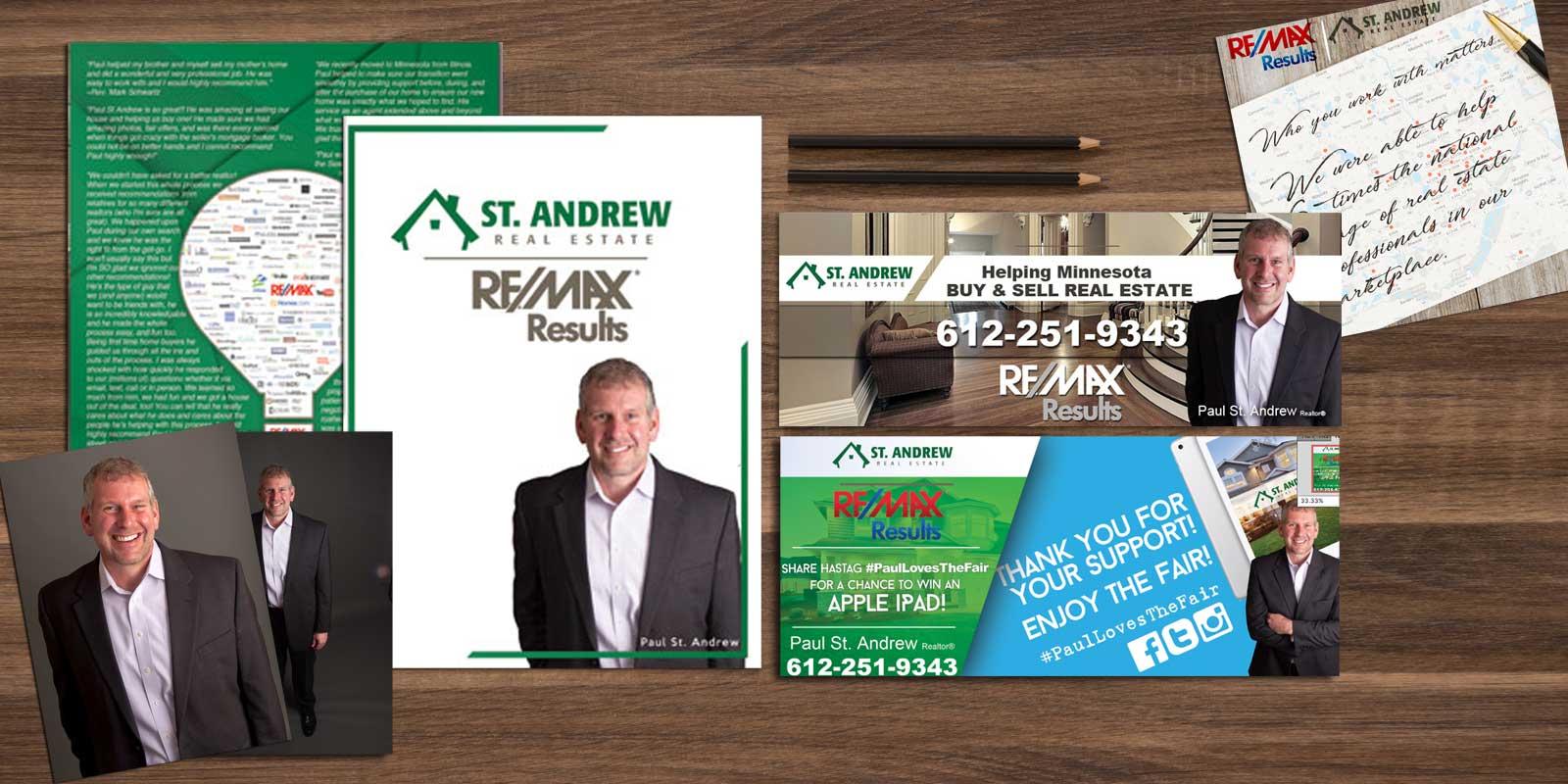 Remax Results Real Estate Marketing Design