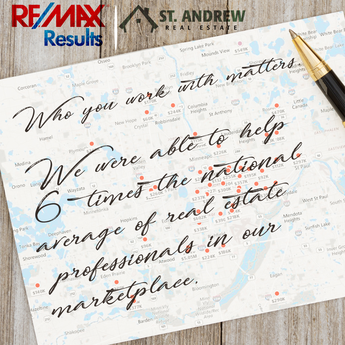 Remax Results Real Estate Marketing Design