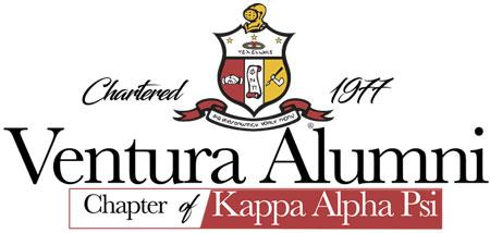 Ventura Alumni Chapter of Kappa Alpha Psi Logo Design