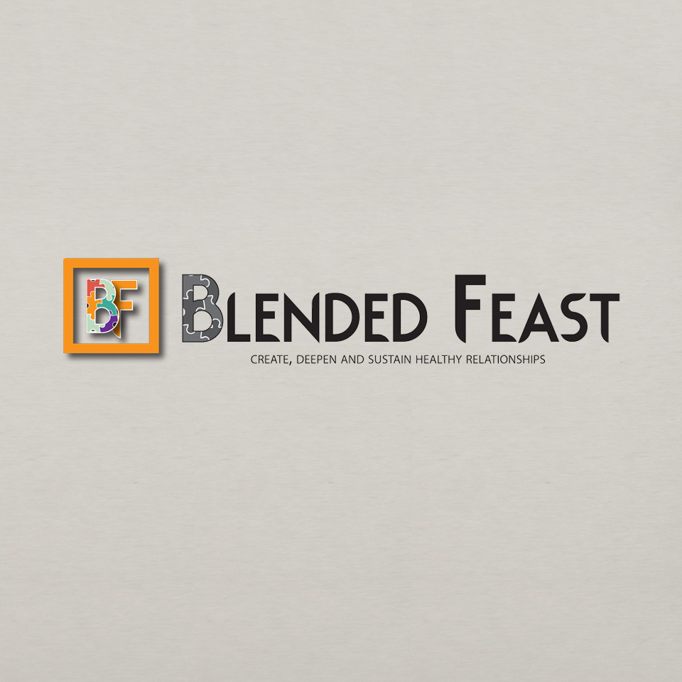nonprofit logo for the blended feast