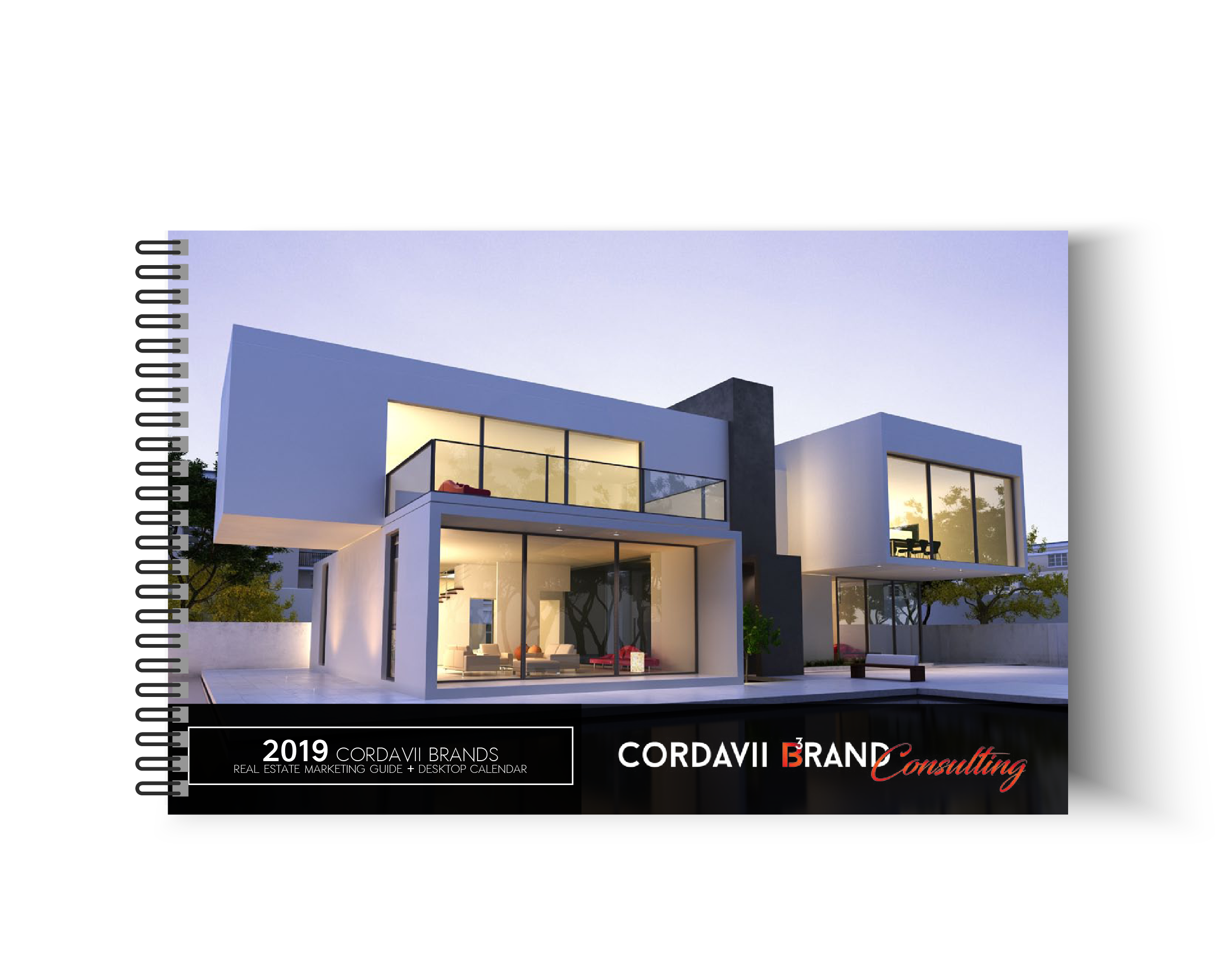 Cordavii 2019 Real Estate Marketing Calendar Front Cover