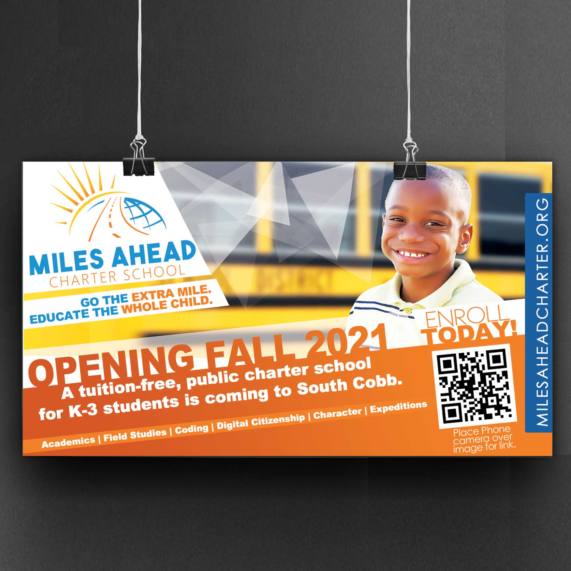 Miles Ahead Charter School Social Marketing